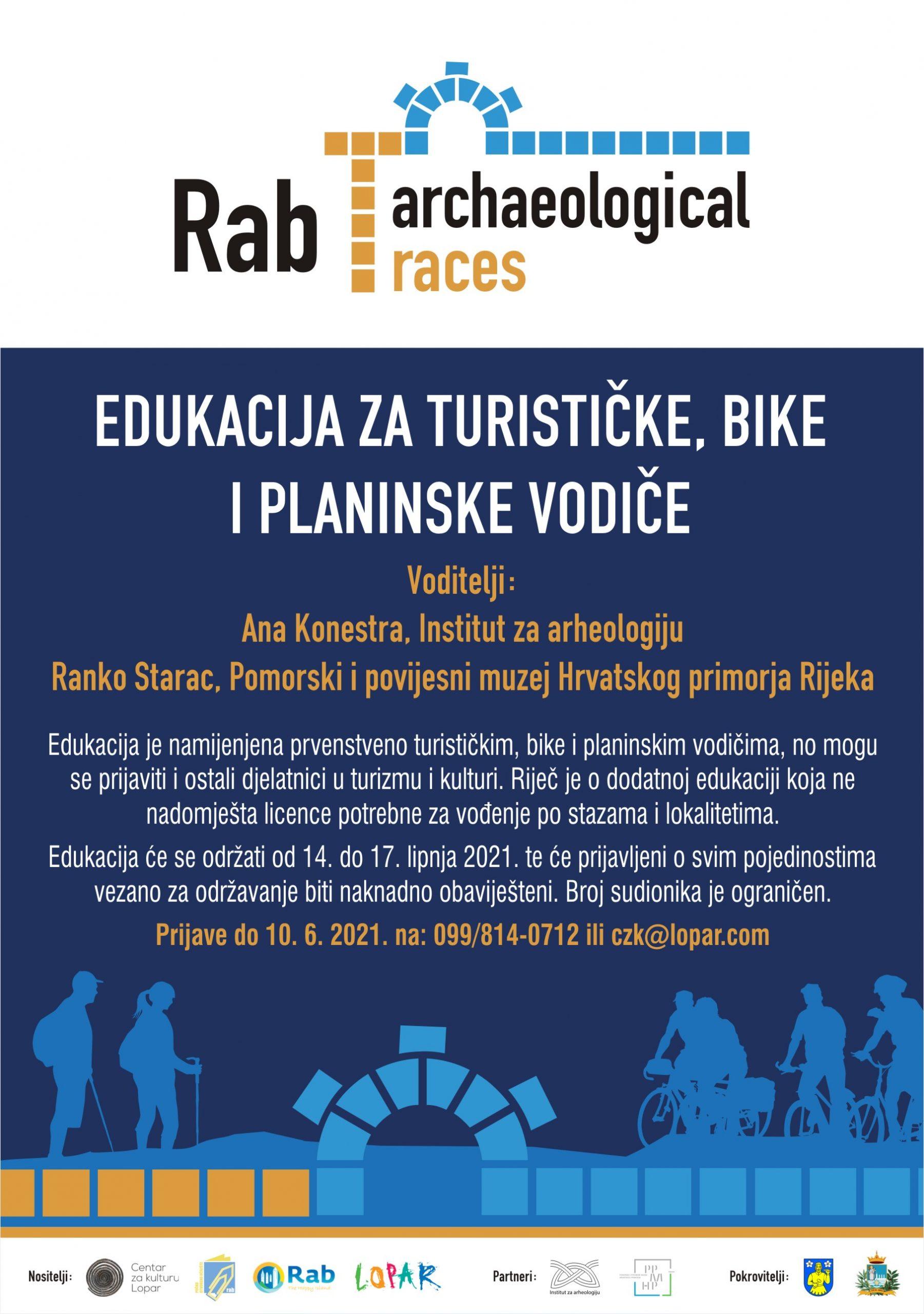 Edukacija za turističke, bike i planinske vodiče